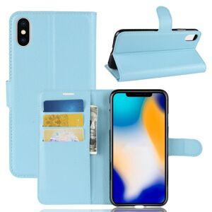 Puhelimenkuoret.fi Apple iPhone Xs Max Lompakkokotelo Sininen