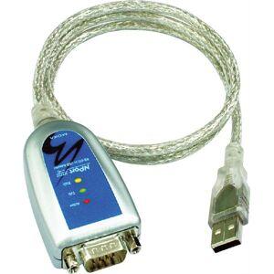 Moxa USB-sarjaporttisovitin, RS-422/485, DB9 Uros, 10cm