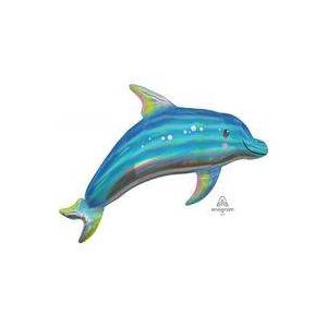 Foliopallo Kimaltava Delfiini