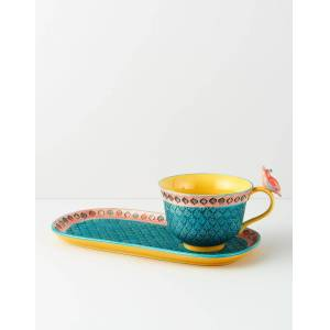 Indiska Cup and saucer