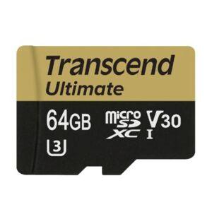 Transcend Ultimate 64GB microSDXC UHS-I U3 V30 (R95 W60 MB/s)