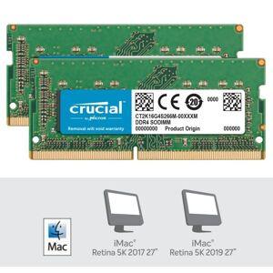 muisti Crucial 32GB (2x16GB) DDR4 2666MHz SoDimm