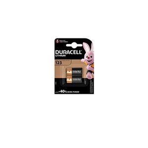 Disposable Duracell 2 x CR123A paristo