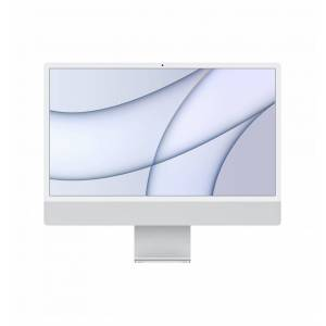 Apple iMac 61 cm (24') 4480 x 2520 pikseliä M 8 GB 256 SSD All-in-one PC macOS Big Sur Wi-Fi 6 (802.11ax) Hopea