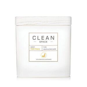 Clean Clean Space Fresh Linens Candle
