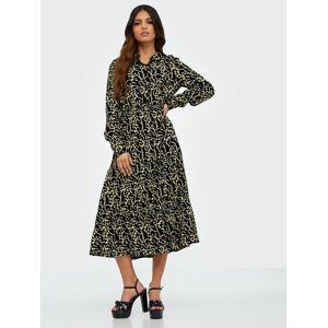 Pieces Pcnadin Ls Midi Dress