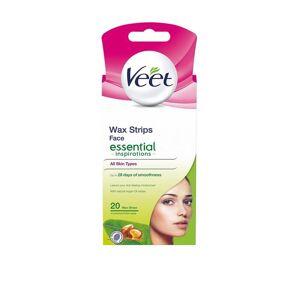 Veet Essential Strips Face 20st