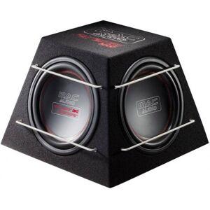 """MacAudio Pyramid 3000 3x12"""" koteloitu subwoofer passiivisäteilijöillä"""