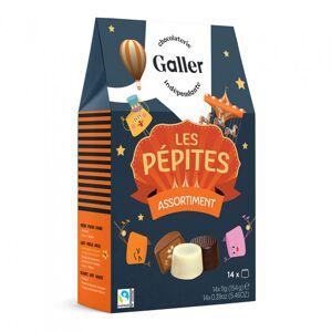 """Suklaamakeislajitelma Galler """"Pépites"""", 14 kpl."""