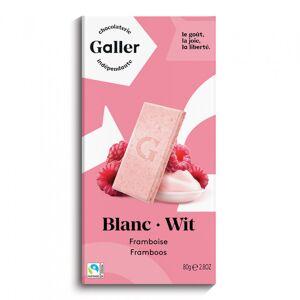 """Suklaalevy Galler """"White Raspberry"""", 80 g"""