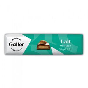 """Suklaapatukka Galler """"Milk Marzipan"""", 70 g"""
