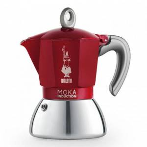 "Mutteripannu Bialetti ""New Moka Induction 4-cup Red"""