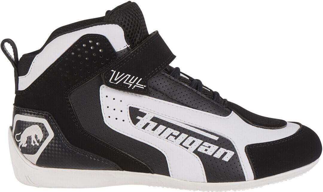 Furygan V4 Vented Moottoripyörä Kengät Musta Valkoinen unisex 45