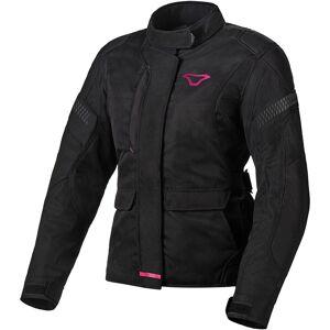 Macna Beryl-E Naisten moottoripyörätekstiilitakki  - Musta Pinkki - Size: L