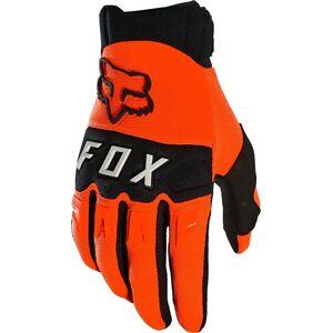 FOX Dirtpaw Motocross käsineet  - Musta Oranssi - Size: L