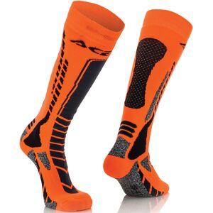 Acerbis MX Pro Sukat  - Musta Oranssi - Size: L XL