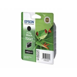 Epson T0541 ink cartridge photo black standard capacity 13ml 550 pages 1-pack blister without alarm