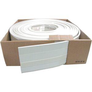 HAGER Minikaapelikouru kerällä, 20m, valkoinen, 15x15mm