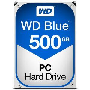 Western Digital WD Blue 500GB SATA 6Gb/s HDD internal 3,5inch serial ATA 64MB cache 5400 RPM RoHS compliant Bulk