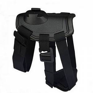 Numaxes Num'axes Dog Harness For 4k Camera -valjaat - Musta