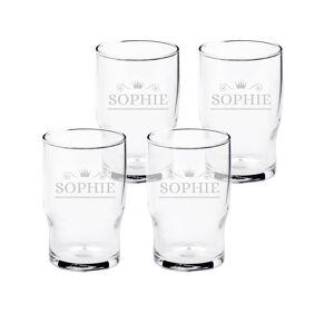 YourSurprise Vesilasi kaiverruksella (4 lasia)