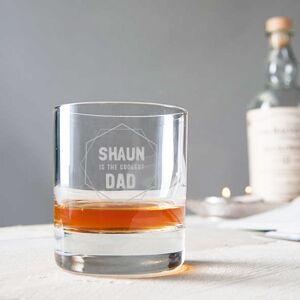 YourSurprise Isänpäivän viskilasi