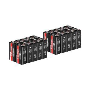 Ansmann Paristo 9 V - säästöpakkaus 20 x 6LR61
