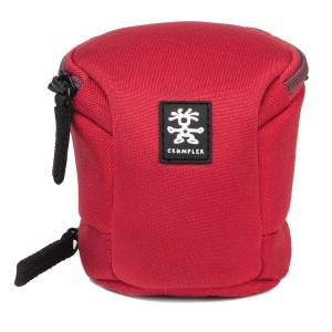 Crumpler Base Layer S Lens case clear red