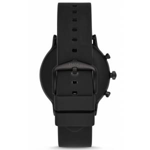 Fossil Gen 5 Smartwatch The Carlyle HR Black Silicone FTW4025