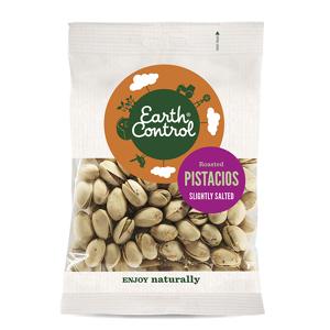 Earth Control Paahdettu pistaasipähkinä 80 g Pähkinät
