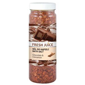 Fresh Juice Bath Salt Chocolate & Cinnamon 700 g Kylpykiteet