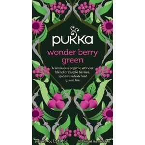 Pukka Wonder Berry Green Tea Luomu 20 pussia Tee
