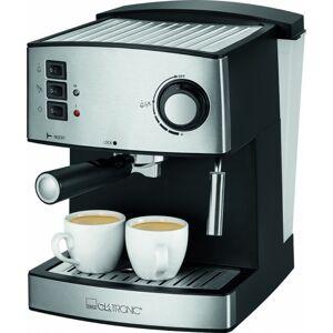 Clatronic ES 3643 Espressokeitin Black Silver 1 kpl Keittiövälineet