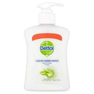 Dettol Anti-Bacterial Hand Wash Aloe Vera 250 ml Käsisaippua