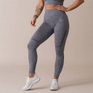 Icaniwill Queen Mesh Seamless Tights, Grey, L