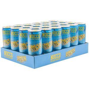 NOCCO 24 X Nocco Bcaa, 330 Ml, Limón Del Sol
