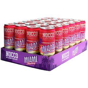 NOCCO 24 X Nocco Bcaa, 330 Ml, Miami Strawberry