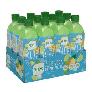 Pro Brands 12 X Aloes Aloe Vera, Pineapple Mojito