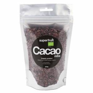 Superfruit Raw Cacao Nibs Eko, 200 G