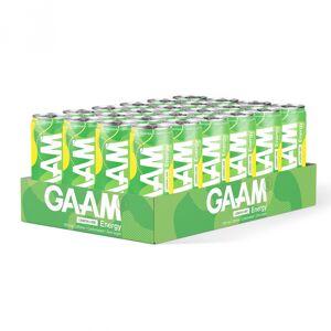 GAAM 24 X Gaam Energy, 330 Ml, Lemon Lime