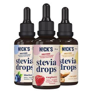 Nicks Stevia Drops, Caramel