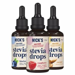 Nicks Stevia Drops, Natural