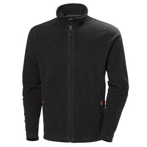 HH Workwear Helly Hansen Work Oxford Light Fleece Jacket   Hh Workwear XS Black  Male