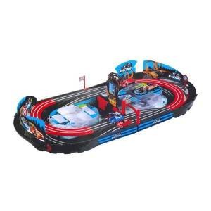 Track + Acc RC car with a suitcase in a pud. MC