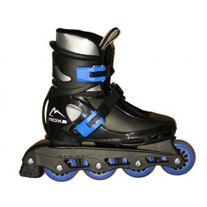 Roxa - Beetle Inliner Rollerblade - Black/Blue (size: 26-31) (1031blueS)