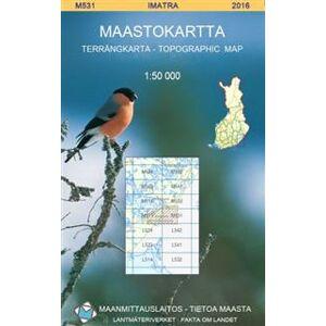 Maastokartta M531 Imatra 1:50 000