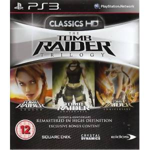 Tomb Raider Trilogy BBFC PS3 (Playstation 3 Reorderable)