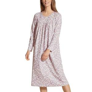 Calida Soft Cotton Nightshirt 33000 - Lilac  - Size: 33000 - Color: violetti