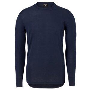 Pierre Robert For Men Sport Wool Long Sleeve - Navy-2  - Size: 61484 - Color: Merensininen