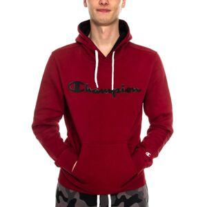 Champion Men Hooded Sweatshirt American Classic - Wine red  - Size: 213424 - Color: viininpun.